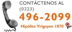 Contáctenos (0223) 496-2099 Hipólito Yrigoyen 1870